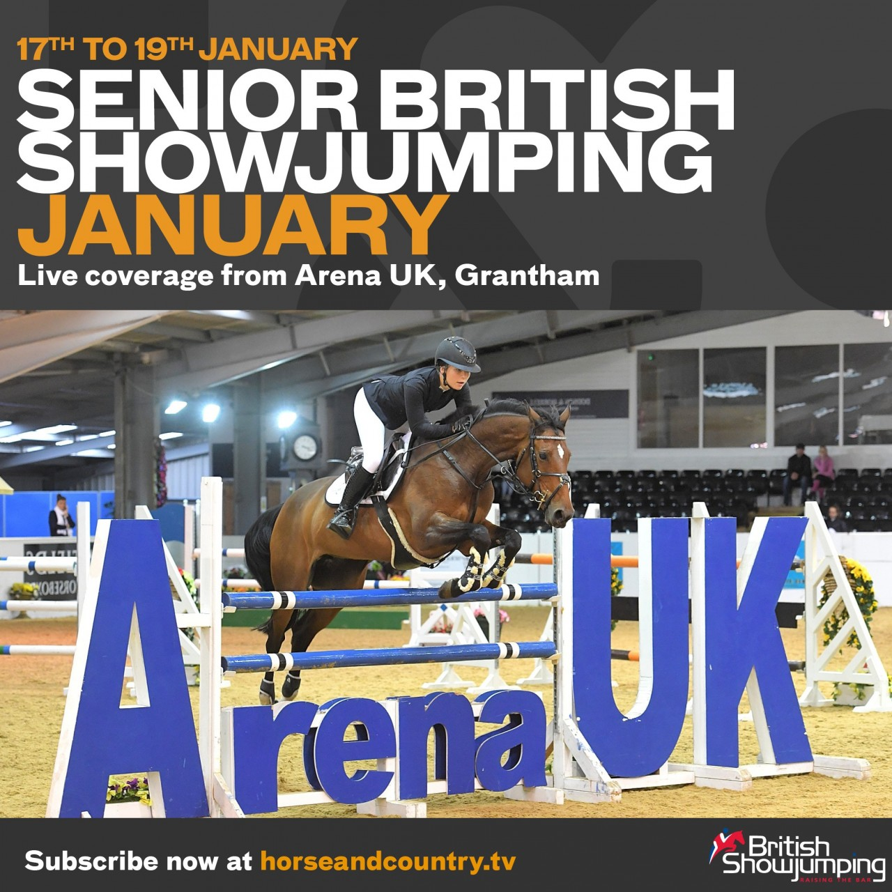 Watch our British Showjumping Three Day Show only on Horse & Country TV
